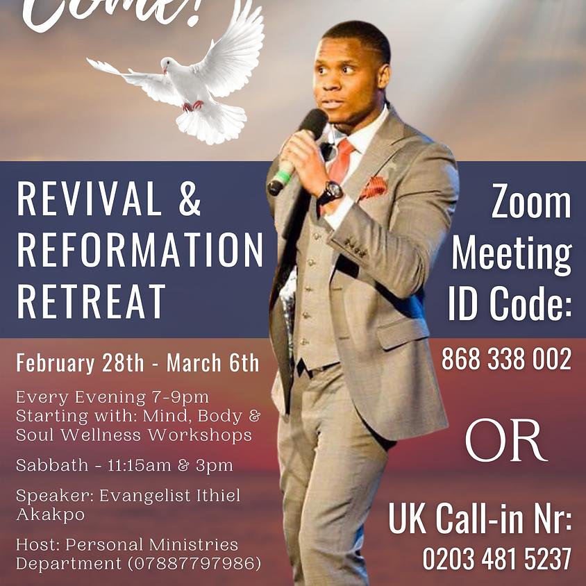 Revival & Reformation Retreat