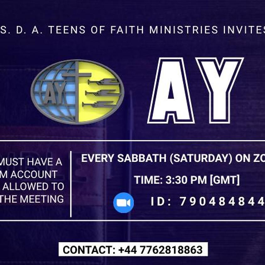 Teens of Faith Ministries AY Fellowship