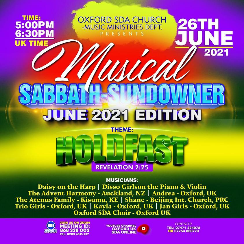 Oxford SDA Musical Sabbath-Sundowner