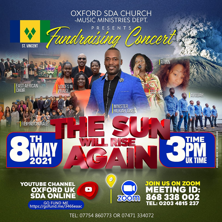 Music Concert in Aid of St. Vincent & Grenadines.