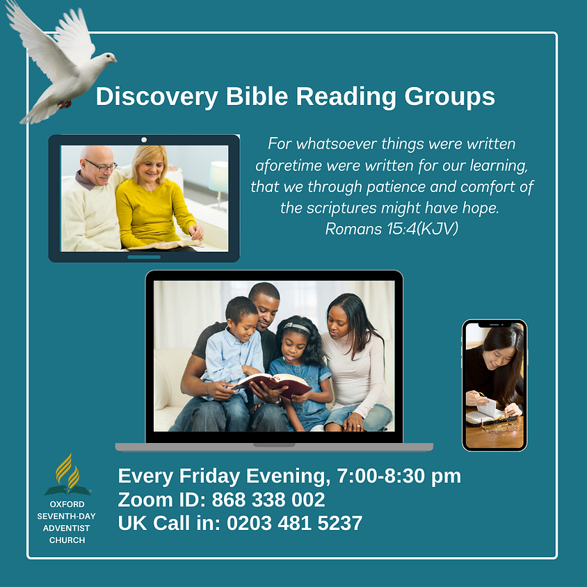 Discovery Bible Reading Groups