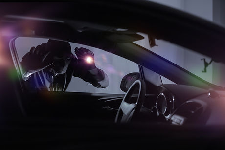 robber stealing car car key crime