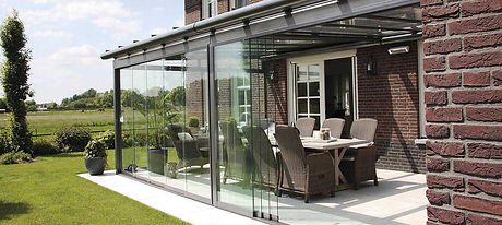 UK Security Shutters Limited Stoke On Trent Staffordshire Glass Room Sun Room Patio Shade Garden