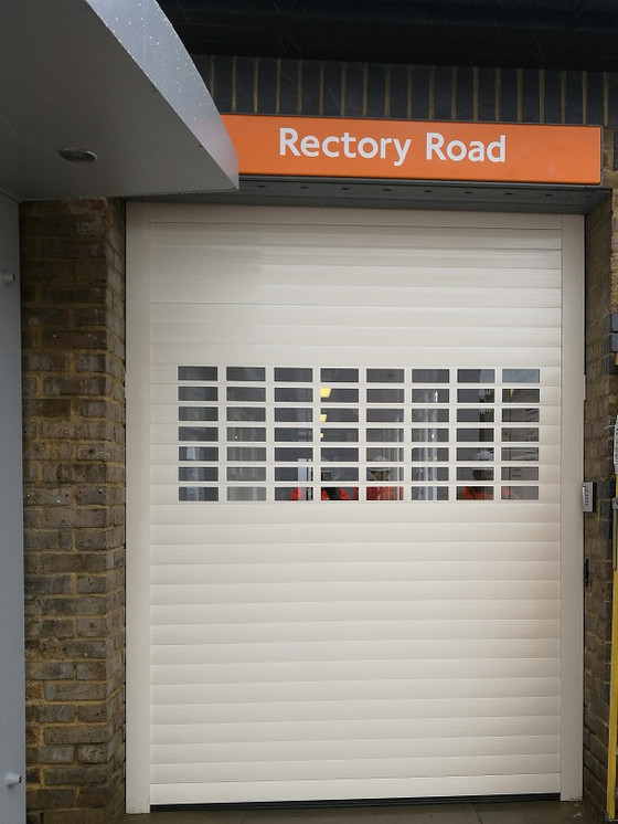 Rectory Road Station receives Command - X Intelligent Door Management System