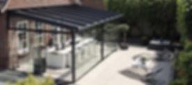 UK Security Shutters Glass Rooms sun awnings pergolas sun victoriana veranda patio shade