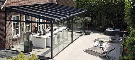 UK Security Shutters Glass Rooms sun awnings pergolas sun victoriana veranda patio shade