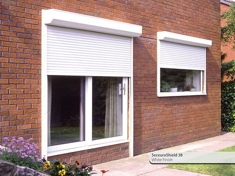 Built On Security Shutters Roller Shutter