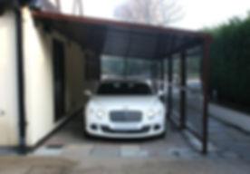 UK Security Shutters Ltd Carports cantilever car port