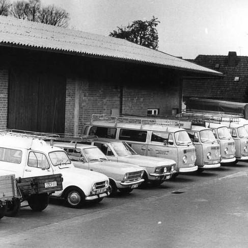 1972: Lager in der Ringstraße