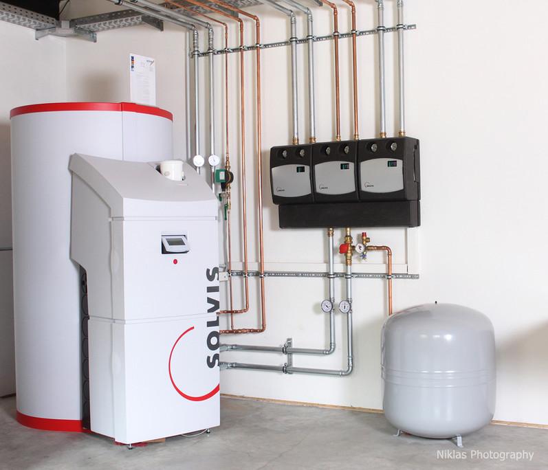 SolvisMax Heizsystem für alle Energieträger