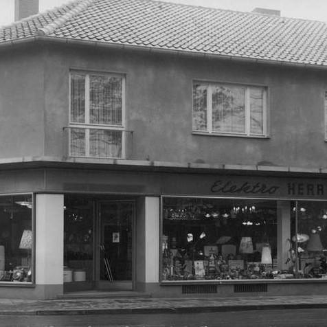 1960: Geschäft in der Lange Straße