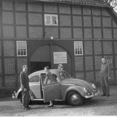 1955: Werkstatt in der Lukenstraße