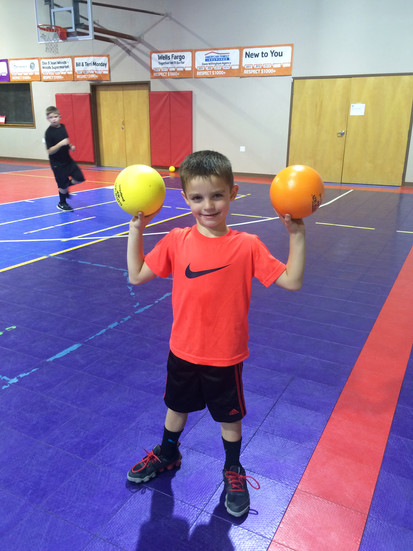 Building confidence with dodgeball