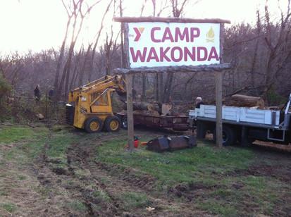 Camp Wakonda gets new lake
