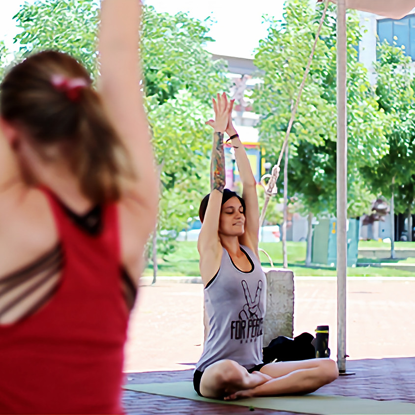 Yoga on the Square