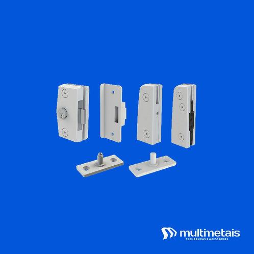MP KIT 1B Porta simples pivotante V/A com fechadura 3210