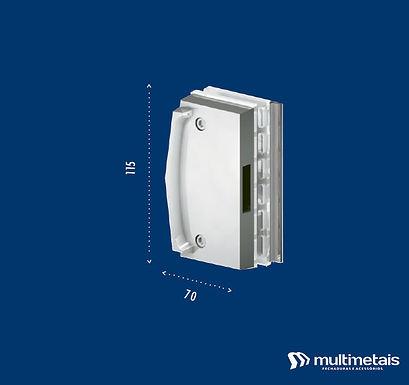 MM 3534 Contra fechadura para porta de correr