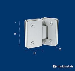 MM 1010 Dobradiça central para união (V/V)