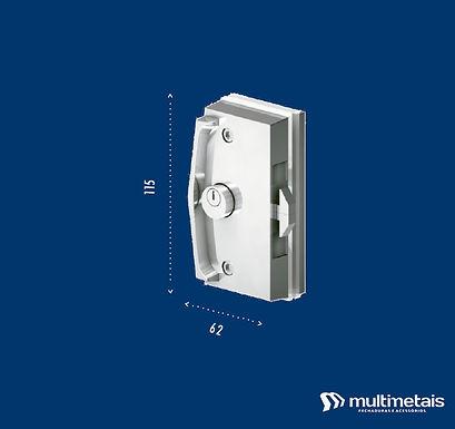 MM 3532 Fechadura para janela de correr sem cilindro externo