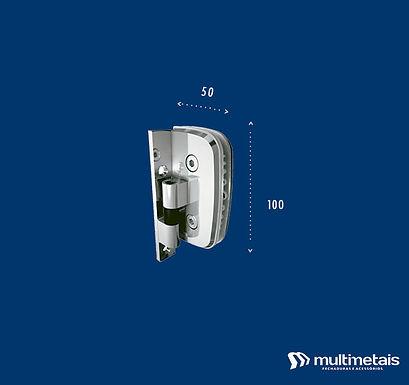 MM 1114A Dobradiça automática para box com caimento parcial