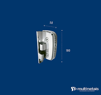MM 1115 Dobradiça para box sem caimento