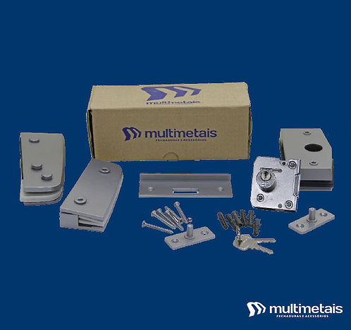 MM KIT 01B Porta simples pivotante V/A com Fechadura 3210