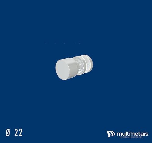 MM 1629J Puxador 22mm Ø