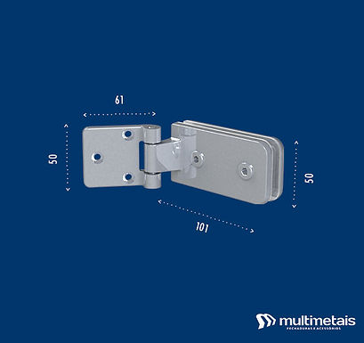 MM 1116 Dobradiça lateral horizontal simples