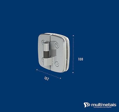 MM 1129E Dobradiça para box lado esquerdo