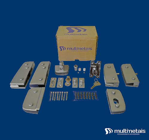 MM KIT 08A Porta dupla pivotante para mola