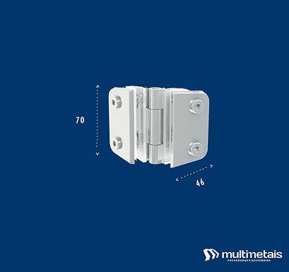 MM 1131 Dobradiça maxin-ar vidro – vidro 40mm entre furos