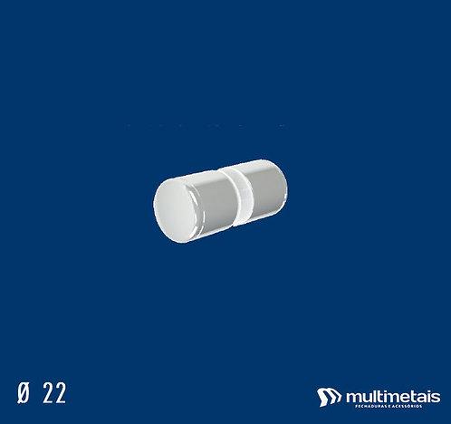 MM 1629BA Puxador 22mm Ø