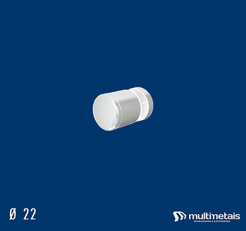 MM 1629JA Puxador 22mm Ø