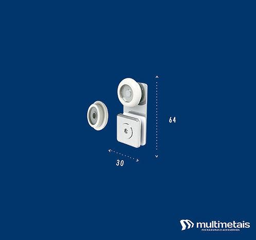MM 1122B Carrinho para box padrão – roldana semi-convexa