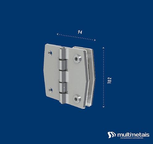 MM 3144 Dobradiça vidro / alvenaria