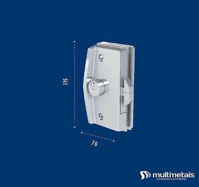 MM 3532A Fechadura para janela de correr com puxador inteiriço