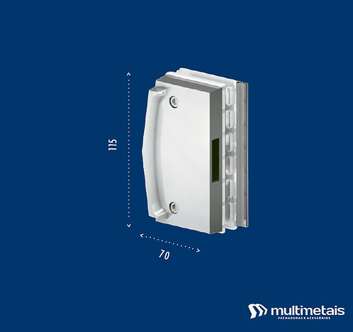 MM 3536 Contra fechadura para janela de correr