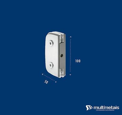 MM 1306 Suporte com miolo para união de 2 vidros