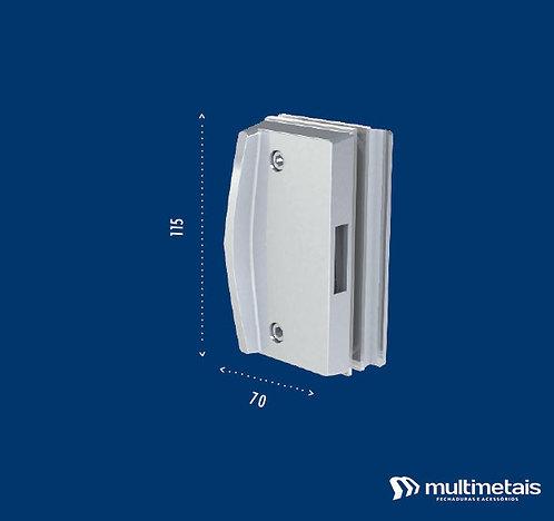 MM 3536A Contra fechadura para janela de correr com puxador inteiriço