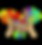 Palm Tale Rainbow Giraffe