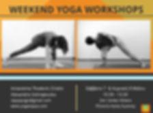 Antaratma Thodoris Chiotis, Alexanrda Sotiropoulou,yoga workshop, Athens Greece