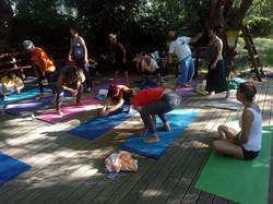 yoga inspired by Vanda Scaravelli