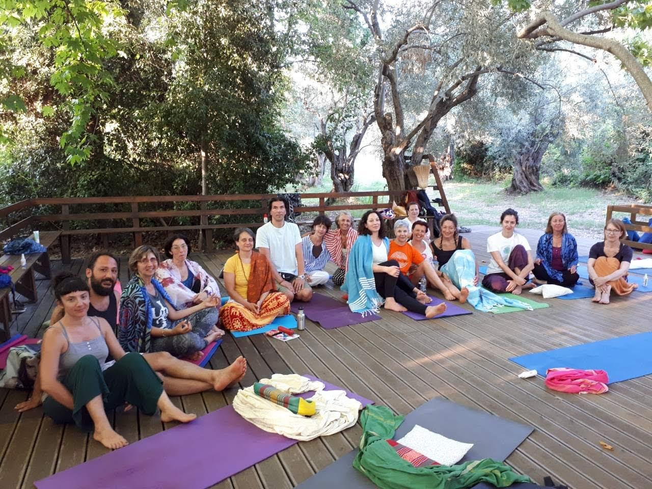 yoga retreat in pelion