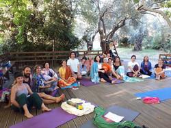 yoga retreat in pelion
