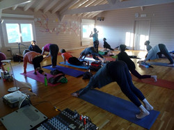 winter yoga retreat greece