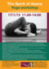 Yoga workshop, Alexandra Sotiropoulou, Athens Greece