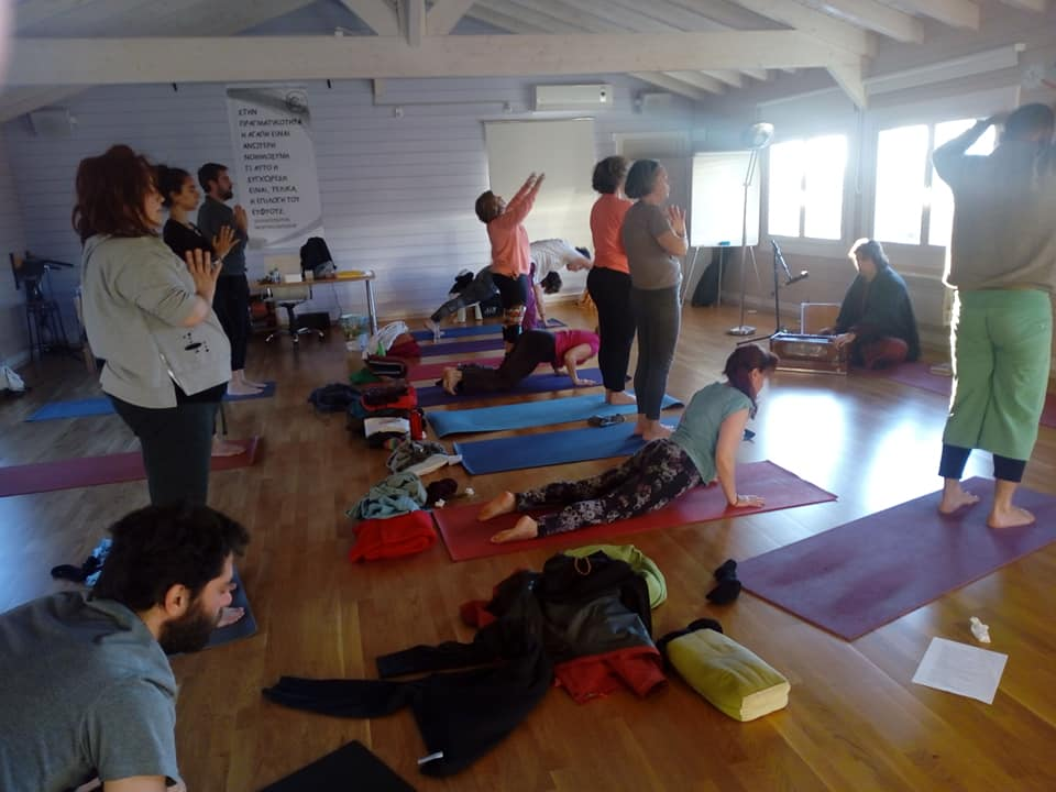 yoga workshop greece