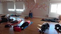 winter yoga retreat, Greece