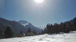 mountains yoga retreat