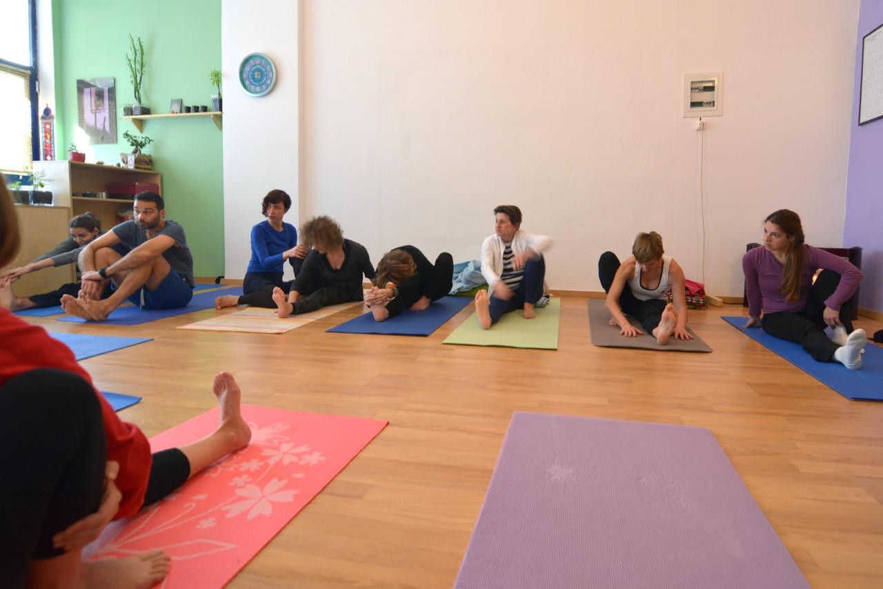 Yoga workshop, scaravelli inspired